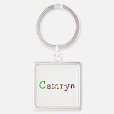 Camryn Balloons Square Keychain