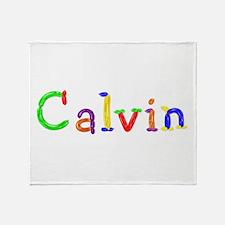 Calvin Balloons Throw Blanket
