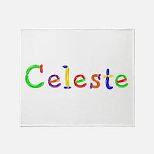 Celeste Balloons Throw Blanket