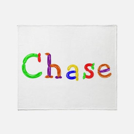 Chase Balloons Throw Blanket