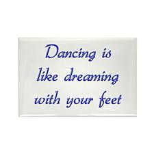 Dancing Rectangle Magnet (100 pack)