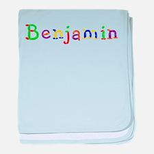 Benjamin Balloons baby blanket