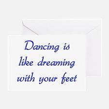 Dancing Greeting Card