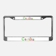 Cecilia Balloons License Plate Frame
