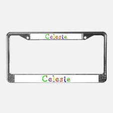 Celeste Balloons License Plate Frame