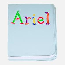 Ariel Balloons baby blanket