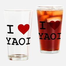 Funny Yaoi Drinking Glass