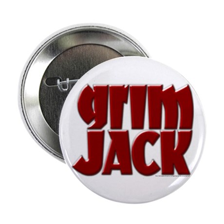 GrimJack Brush Metal Red Button