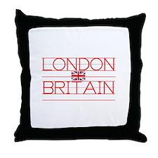 LONDON BRITAIN Throw Pillow