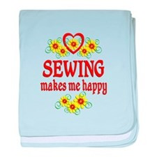 Sewing Happiness baby blanket