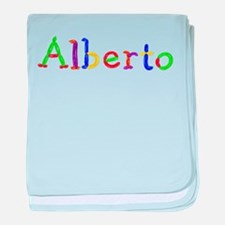 Alberto Balloons baby blanket