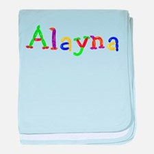 Alayna Balloons baby blanket