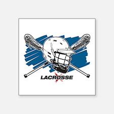"""Lacrosse Attitude Square Sticker 3"""" x 3"""""""