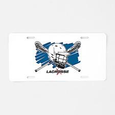 Lacrosse Attitude Aluminum License Plate