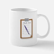 Check List Mugs