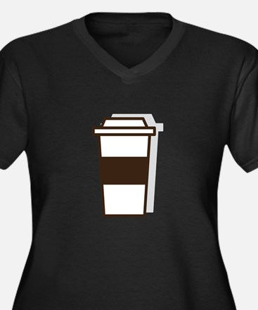 Coffee To Go Plus Size T-Shirt