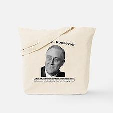 FDR: Change Tote Bag