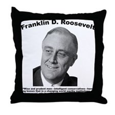 FDR: Change Throw Pillow