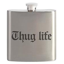 thug life, gangster, baby, g, thug, Flask