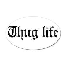 thug life, gangster, baby, g Wall Decal