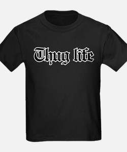 thug life, gangster, baby, g, th T