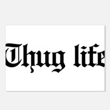 thug life, gangster, baby Postcards (Package of 8)