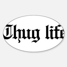 thug life, gangster, baby, g, thug, Bumper Stickers