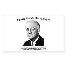 FDR: Self-Interest Decal
