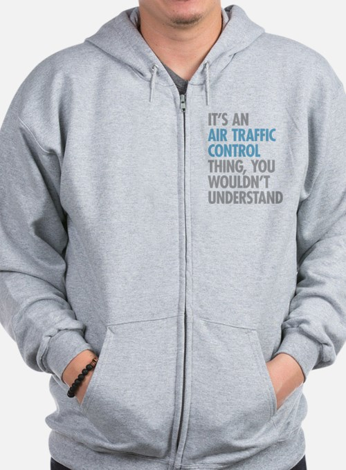 Air Traffic Control Zip Hoodie