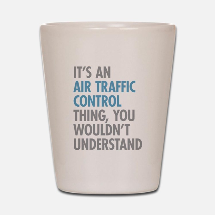 Air Traffic Control Shot Glass