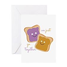 We Go Together Greeting Cards