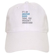 Amateur Radio Baseball Cap