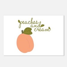 Peaches And Cream Postcards (Package of 8)