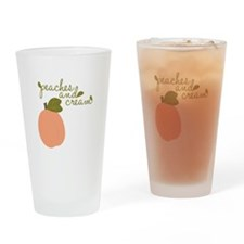 Peaches And Cream Drinking Glass