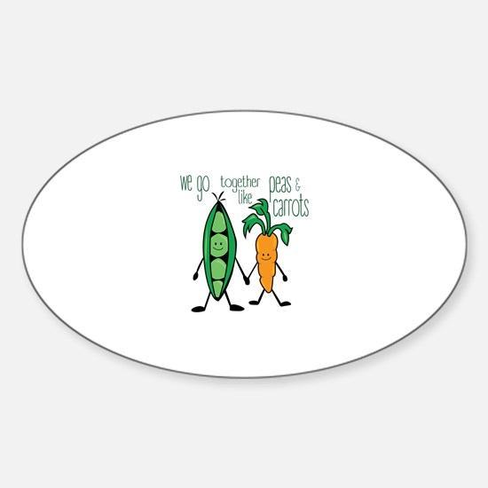 Peas & Carrots Decal