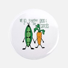 Peas & Carrots Button