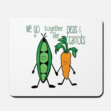 Peas & Carrots Mousepad