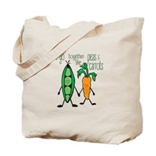 Peas & Carrots Tote Bag