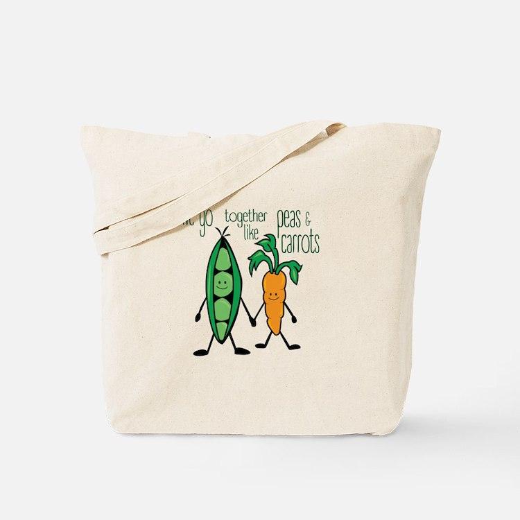 Peas & Carrots Tote Bag