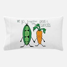 Peas & Carrots Pillow Case
