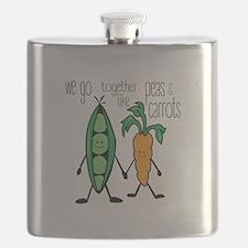 Peas & Carrots Flask