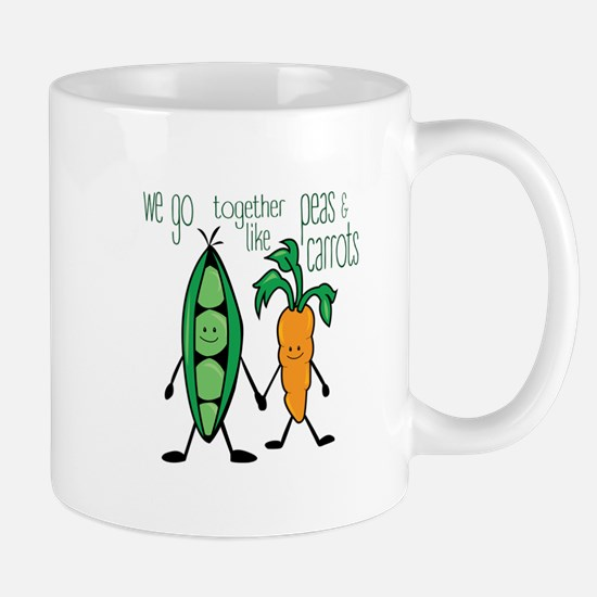 Peas & Carrots Mugs