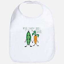 Peas & Carrots Bib
