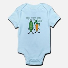 Peas & Carrots Body Suit