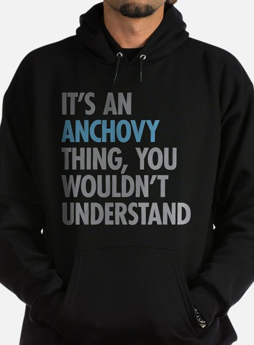 Anchovy Thing Hoodie (dark)