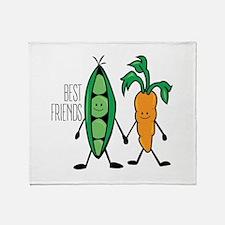 Best Frriends Throw Blanket