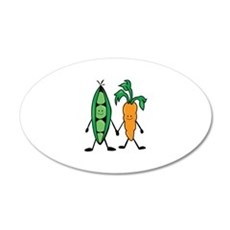 Carrot & Peas Wall Decal