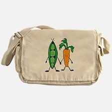 Carrot & Peas Messenger Bag