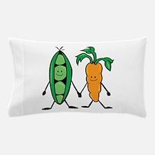 Carrot & Peas Pillow Case