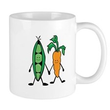 Carrot & Peas Mugs